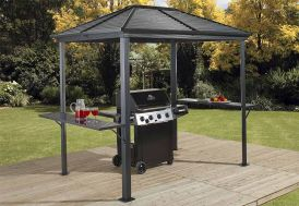 Abri pour barbecue en aluminium et acier Sojag Ventura