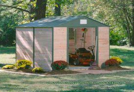 Abri de Jardin Bois Cedre 1012 (307x371x233)