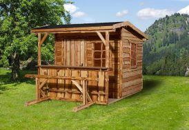 abri de jardin en bois chalet de jardin Weka