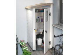 Abri de Jardin Mural en PVC Evo 100/1 Beige (82x122cm)