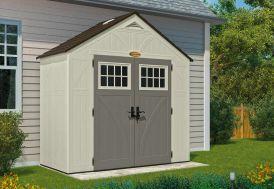 Abri de Jardin PVC Suncast Woodgrain 8400 (1,32x2,55)