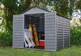 Abri de Jardin Polycarbonate Skylight Palram Gris (2,30x1,85) 4,25 m²