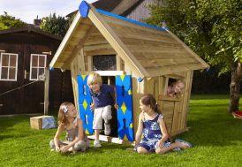 Maison pour Enfant en Bois Crazy Playhouse