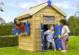 Maison pour Enfant en Bois Jungle Playhouse
