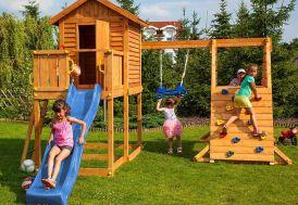 aire de jeux en bois FSC