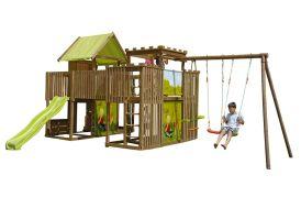 portique aire de jeux en bois traité autoclave géante
