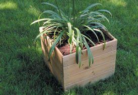 Jardinière en Bois Modulable et Personnalisable 40x40x39,5cm