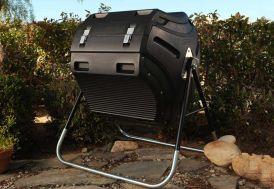 composteur en polyéthylène lifetime 303 litres