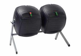 double tambour à compost lifetime polyéthylène haute densité
