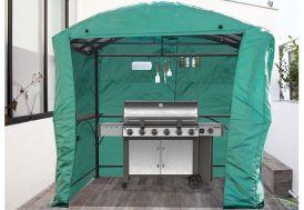 Bâche pour Carport Abri pour Barbecue Acier 1,5 x 2,5 m -  Habrita