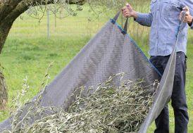 Bâche en polypropylène pour le jardin ramassage branchage