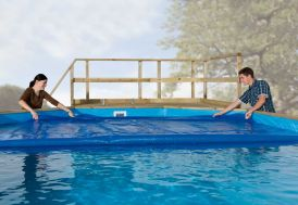 Bache chauffante pour piscine Korfu