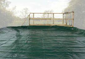 Bache de recouvrement pour piscine Korfu