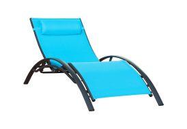 Bain de Soleil Alu et Textilène Sunlight Turquoise