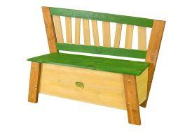 banc pour enfant 110 cm en bois imputrescible