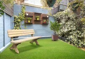 banc de jardin en bois traité autoclave avec dossier 180 cm