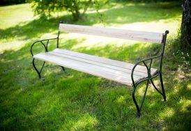 Banc de Jardin Bois 4 Places 200 cm 35 mm Oméga