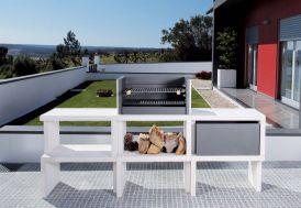 Barbecue Modulaire Béton LIV06