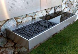 Barbecue Design au Charbon de Bois Krakatoa Élégance