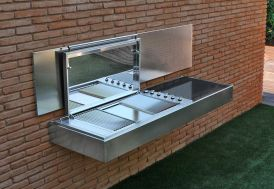 Barbecue Design au Gaz Krakatoa Line