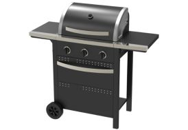 barbecue au gaz Invicta 3 brûleurs 9 kW