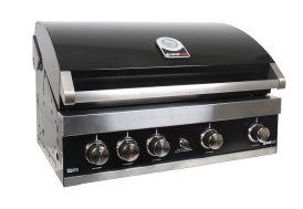 Barbecue Gaz Encastrable Acier Noir Maxim GTI4