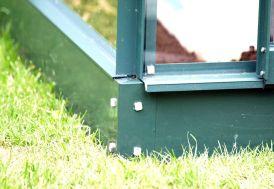 Base pour serre VENUS 6200 Laqué Vert