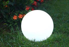 Boule Lumineuse Multicolore Autonome à Énergie Solaire