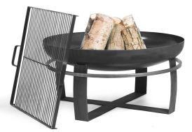 Braséro en Acier Viking + Grille de Cuisson (plusieurs dimensions)