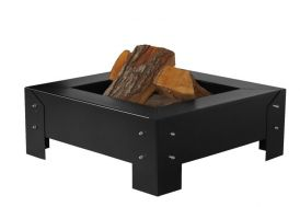 Braséro Pan 3 Acier Laqué Noir (plusieurs dimensions)