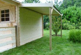 Bucher pour Abri Jardin Bois Solid