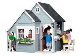 Cabane en Bois Maison d'Enfants de Jardin Equipée Spring Cottage