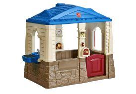 cabane de jardin pour enfants neat and tidy cottage bleue