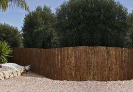 Clôture Naturelle en Ecorces de Pins (2x5m)