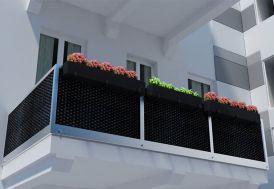 brise-vue en résine tressée sur mesure différent coloris 20 m²