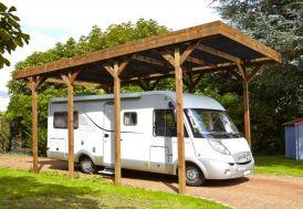 Carport Camping-Car Bois Traité Autoclave (802x404)
