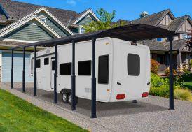 Carport Camping-Car Aluminium/Polycarbonate Palram Arcadia Alpine 12700 46 m²