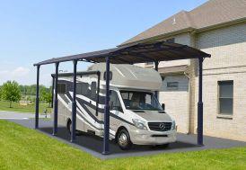Carport Camping-Car Aluminium et Polycarbonate Palram Arcadia Alpine 8500 30 m²