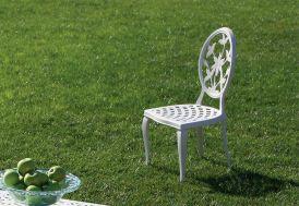 Chaise de Jardin en Aluminium Versailles