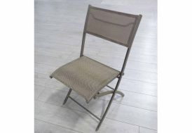 Chaise de Jardin Textilène Pliante