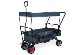 chariot de transport pour enfant en métal avec freins