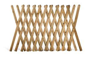 Clôture Croisée en Bois Traité 250x100cm (l,h)