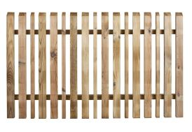 Clôture en Bois Traité Oblik 150x90cm (l,h)