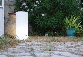 Colonne Lumineuse Blanche 35x70cm(l,h)