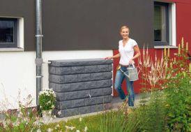 Cuve Récupération d'Eau Pluie Murale Rocky 400L