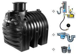 Cuve recuperateur eau Clever M 4500 L