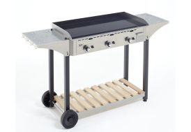 Desserte Inox pour Plancha Roller Grill 900
