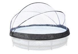 Dôme de protection couverture pour piscine ronde Exit Toys 360 cm