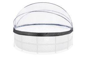 Dôme de protection en PVC transparent pour piscine ronde