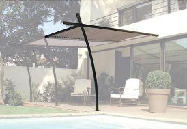 Extension pour Tonnelle Sydney en Acier 3,5 x 2m + Lames Orientables